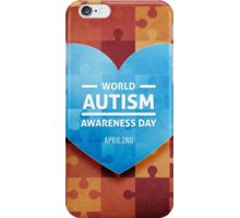 International Autism day iPhone Case/Skin
