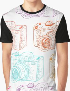 Colored cameras  Graphic T-Shirt