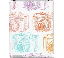 Colored cameras  iPad Case/Skin
