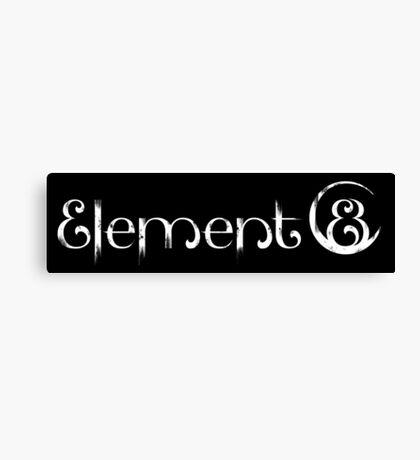 Element 8 - White Canvas Print