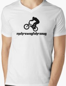 Mehrswagfahrzeug Mens V-Neck T-Shirt