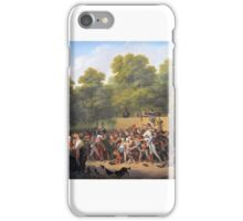 Louis Léopold Boilly - Distribution of Wine and Food iPhone Case/Skin