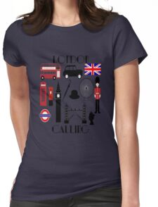 LONDON CALLING Womens Fitted T-Shirt