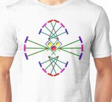 Croquet - Mallets,Balls and Hoops Design Unisex T-Shirt