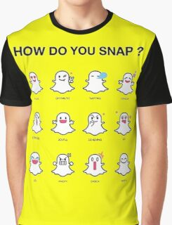 HOW DO YOU SNAP ? Graphic T-Shirt