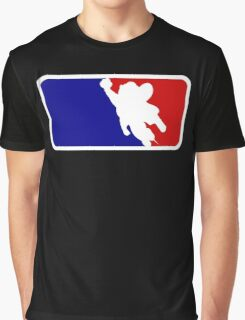 Mighty Mouse Baseball Graphic T-Shirt