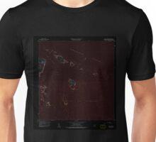 USGS TOPO Map Puerto Rico PR Cayo Icacos 362077 1958 20000 Inverted Unisex T-Shirt