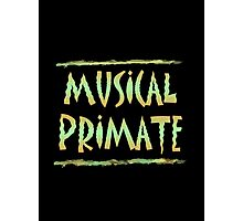 Musical Primate Photographic Print