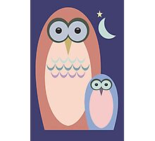 NIGHT OF THE OWLS Photographic Print