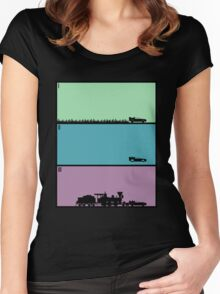Back to the Future Trilogy Women's Fitted Scoop T-Shirt