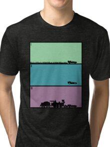 Back to the Future Trilogy Tri-blend T-Shirt