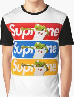 Supreme Kermit Graphic T-Shirt