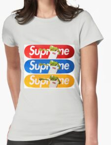 Supreme Kermit Womens Fitted T-Shirt
