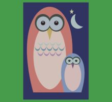 NIGHT OF THE OWLS Kids Tee