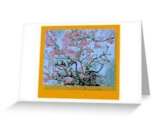 Vincent Van Gogh Bastardisation (Cherry blossom) Greeting Card