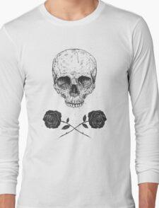 Skull N' Roses Long Sleeve T-Shirt