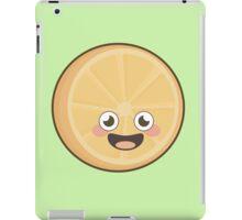Kawaii Orange iPad Case/Skin