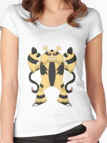 Electivire Women's Fitted Scoop T-Shirt