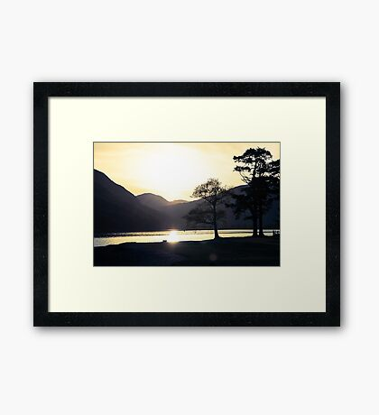Just Before Framed Print