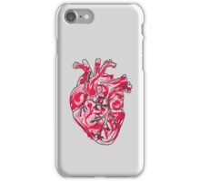 Human Heart: Colors and Doodles iPhone Case/Skin