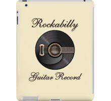 Rockabilly Guitar Record  iPad Case/Skin