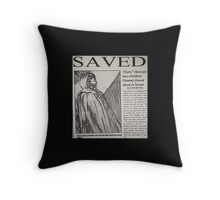 Unbreakable newspaper article Throw Pillow