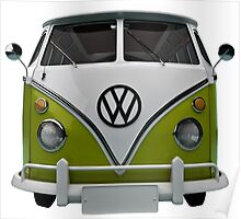 VW Bus Happy II Poster