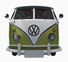 VW Bus Happy II One Piece - Long Sleeve