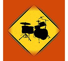 Drummer Zone Photographic Print