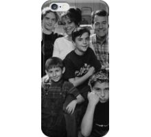Malcolm in the Middle B&W photo iPhone Case/Skin
