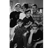 Malcolm in the Middle B&W photo Photographic Print