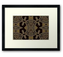 Geometric Patterns No. 63 Framed Print