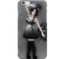 Blauer Schmetterling iPhone Case/Skin