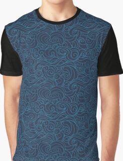 Sea storm pattern Graphic T-Shirt