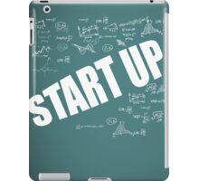 Start Up Fly Entrepreneur Sketchy Graphic T-shirt Design iPad Case/Skin