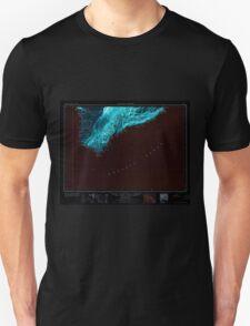 USGS TOPO Map Hawaii HI Hawaii South 349924 1961 250000 Inverted Unisex T-Shirt