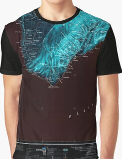 USGS TOPO Map Hawaii HI Hawaii South 349924 1961 250000 Inverted Graphic T-Shirt