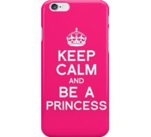 Pink Princess Girly iPhone Case/Skin