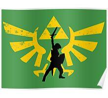 The power of three (Legend of Zelda) Poster