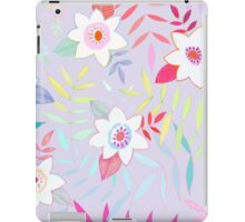 tropical floral iPad Case/Skin