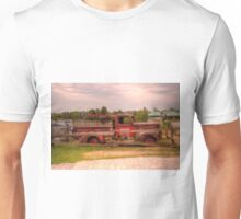 Antique pickup truck at Blue Mountain 2 Unisex T-Shirt