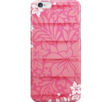 Floral Pink Layered Design iPhone Case/Skin