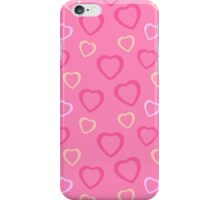 Pink Girly Heart iPhone Case/Skin