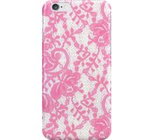 Floral Sprout Pink iPhone Case/Skin