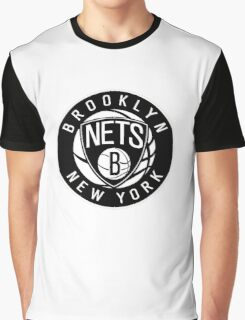 Brooklyn Nets Logo nba new york Graphic T-Shirt