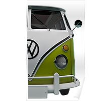 VW Bus Happy Poster
