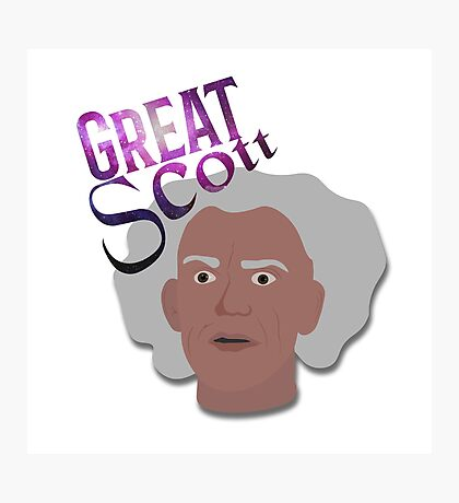 Great Scott! Photographic Print