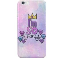 I'm so fancy Queen Purple iPhone Case/Skin