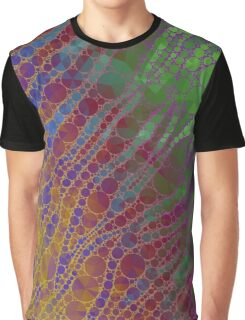 Rainbow Zebra Abstract Pattern  Graphic T-Shirt