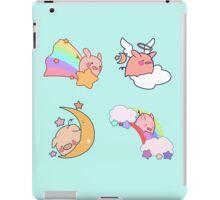 Four Rainbow Moon Pigs iPad Case/Skin
